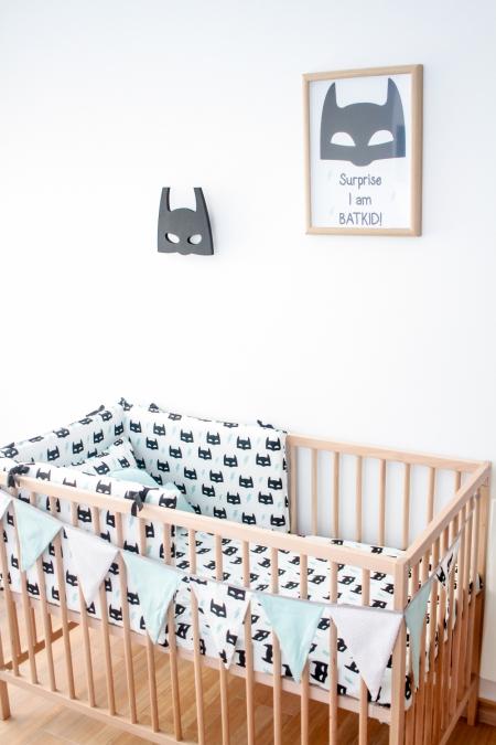 Decoración habitación infantil Batman
