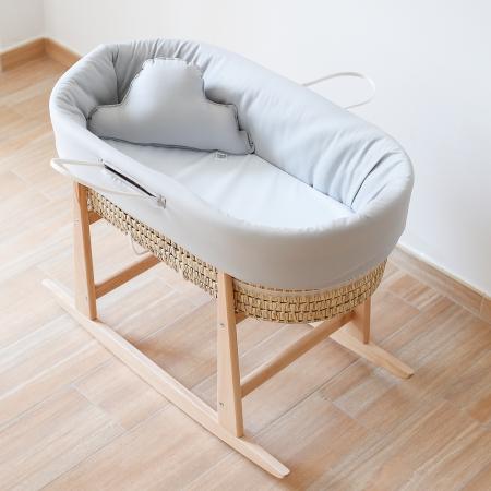 Soporte madera capazo para bebé