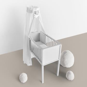 Habitación de bebé estilo nórdico