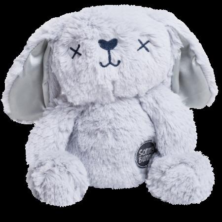 Peluche conejo gris