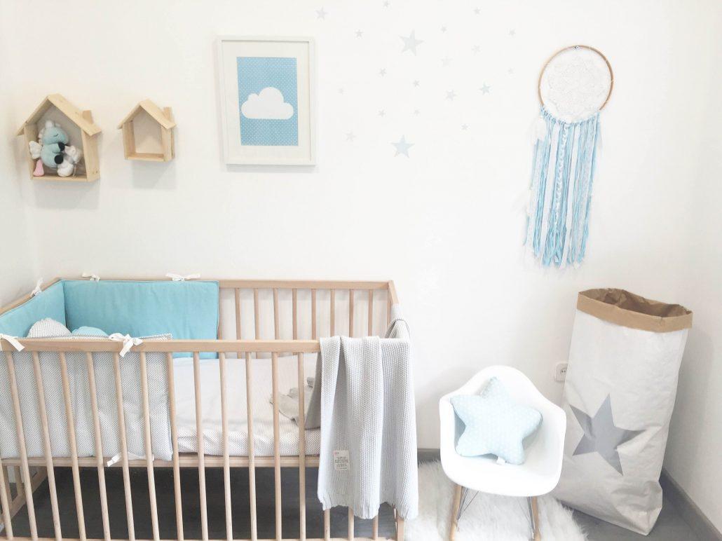 Habitaci n estilo n rdico ltima moda en habitaciones de for Habitacion infantil estilo nordico