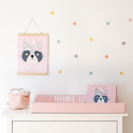 Decoración infantil Free Spirit color rosa