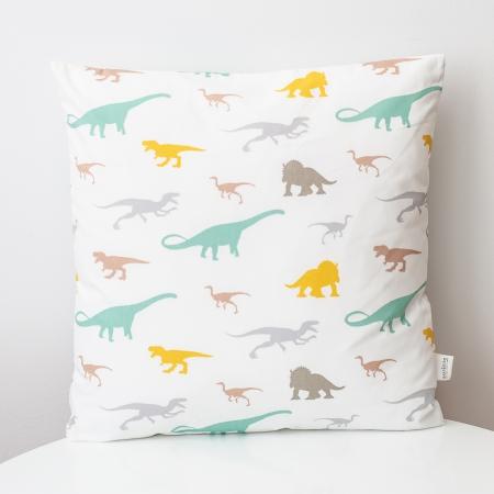 Cojín cuadrado dinosaurios