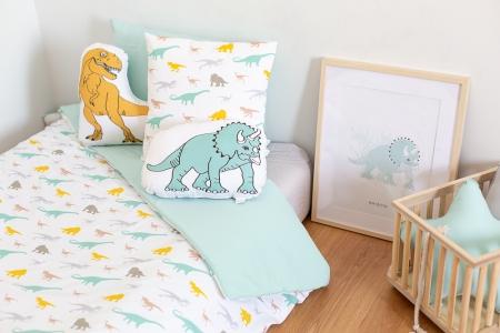 Ropa de cama dinosaurios