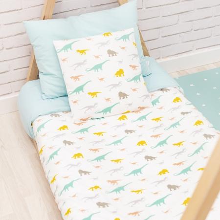 Conjunto ropa de cama infantil dinosaurios