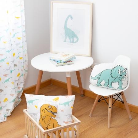Detalles decoración infantil con dinosaurios