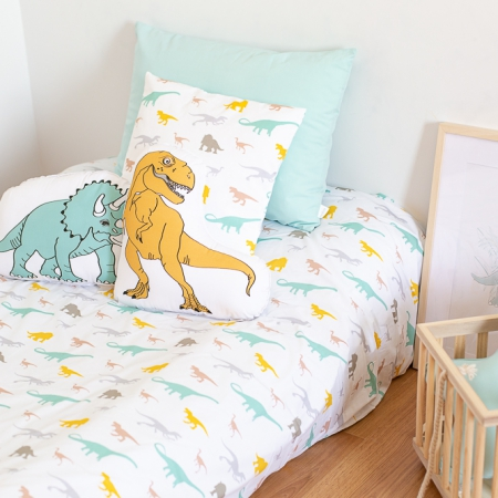 Ropa de cama infantil dinosaurios