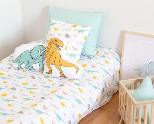 Cojines y almohadas dinosaurios