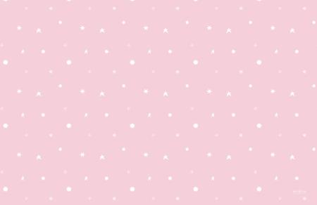 Alfombra vinílica infantil Estrellas rosa