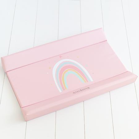 Cambiador bebé rosa arco iris Estrellita la Valiente