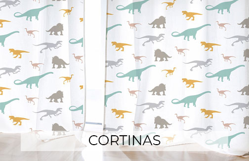 Cortinas decoración infantil
